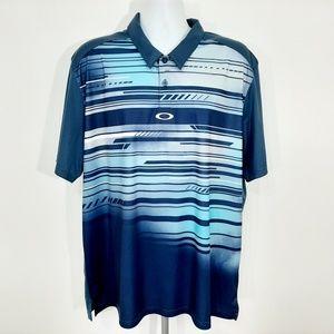 Oakley Hydrolix Men's Golf Polo Size 2XL Multicolo